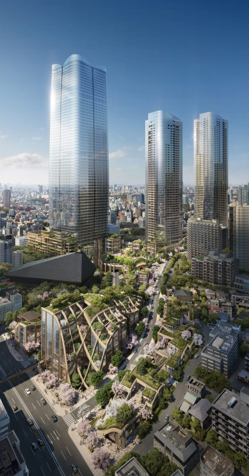 Toranomon-Azabudai project by Heatherwick Studio