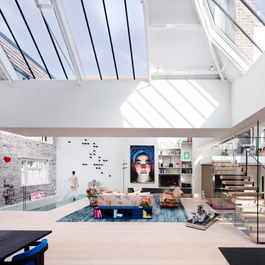Rodi? Davidson merges two 19th-century art studios to create home in London's Chelsea