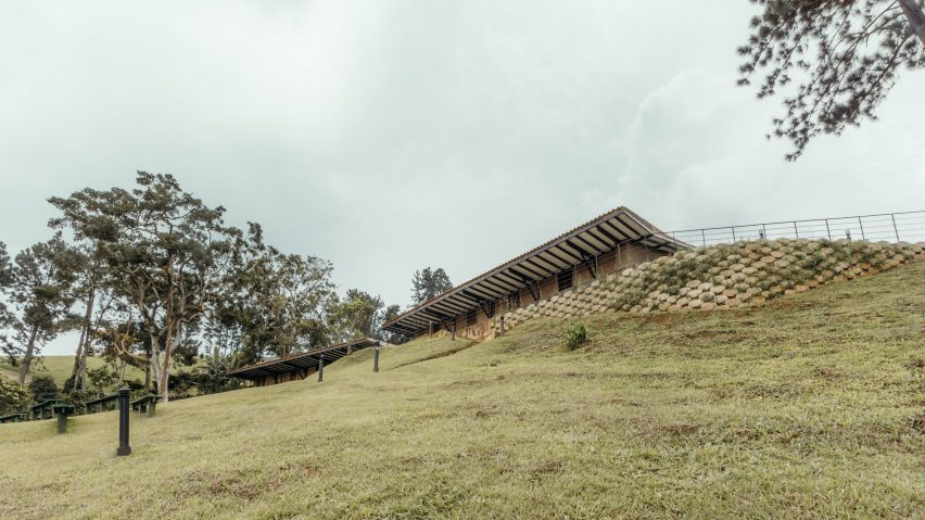 Two cabins Venezuela summer camp by ATA