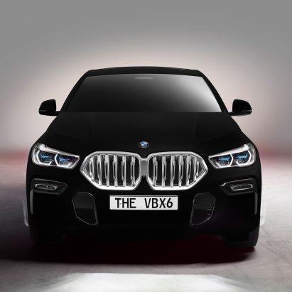 Vantablack BMW car