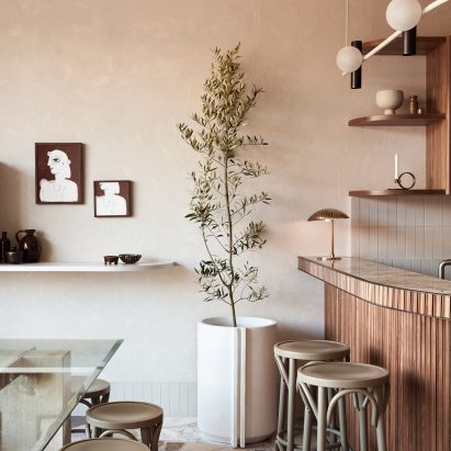 Via Porta cafe in Melbourne by Studio Esteta