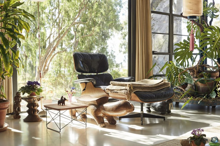 Eames Eucalyptus LTR Tables by Herman Miller and Vitra