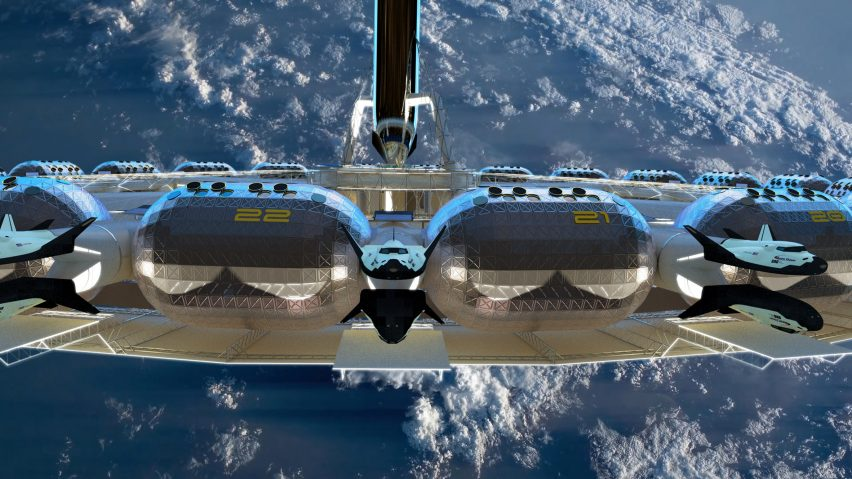 Space hotel: Von Braun Space Station by the Gateway Foundation