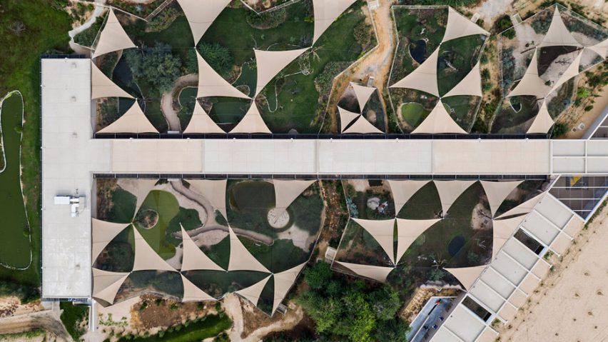 Wasit Wetland Centre, Sharjah, by X-Architects