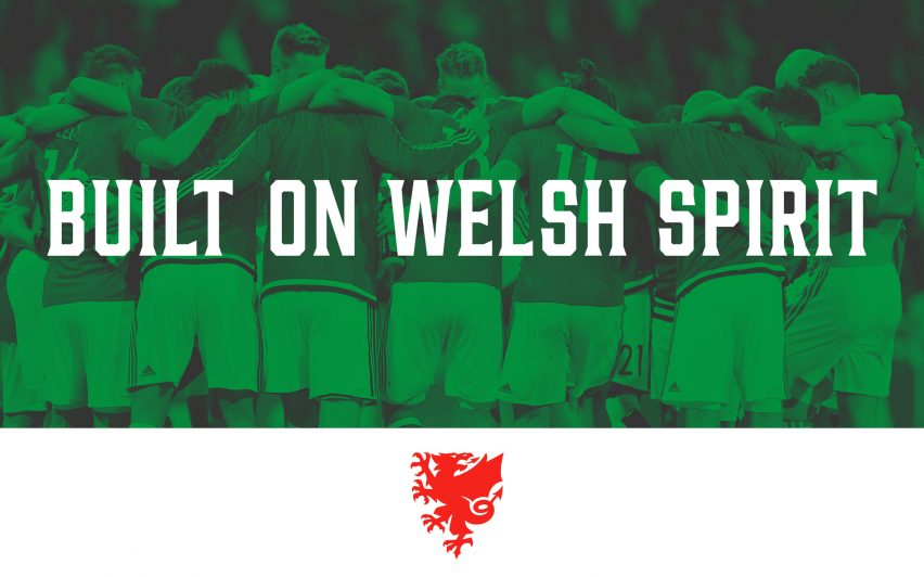 Welsh football association unveils new visual identity featuring simplified dragon logo