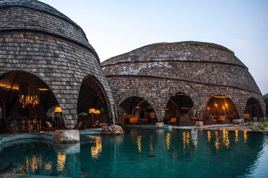 Wild Coast Tented Lodge by Nomadic Resorts near Yala National Park in Sri Lanka