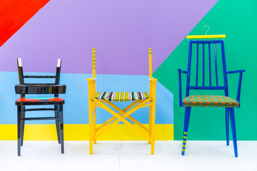 Yinka Ilori chairs
