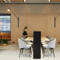 Conran and Partners overhauls office lobby to feature hotel-style leisure areas