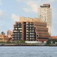 Brick office block by Hollwich Kushner and Gensler echoes Williamsburg's industrial past