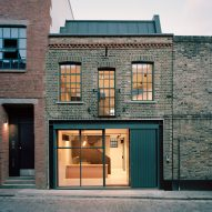 Tasou Associates turns abandoned London warehouse into office