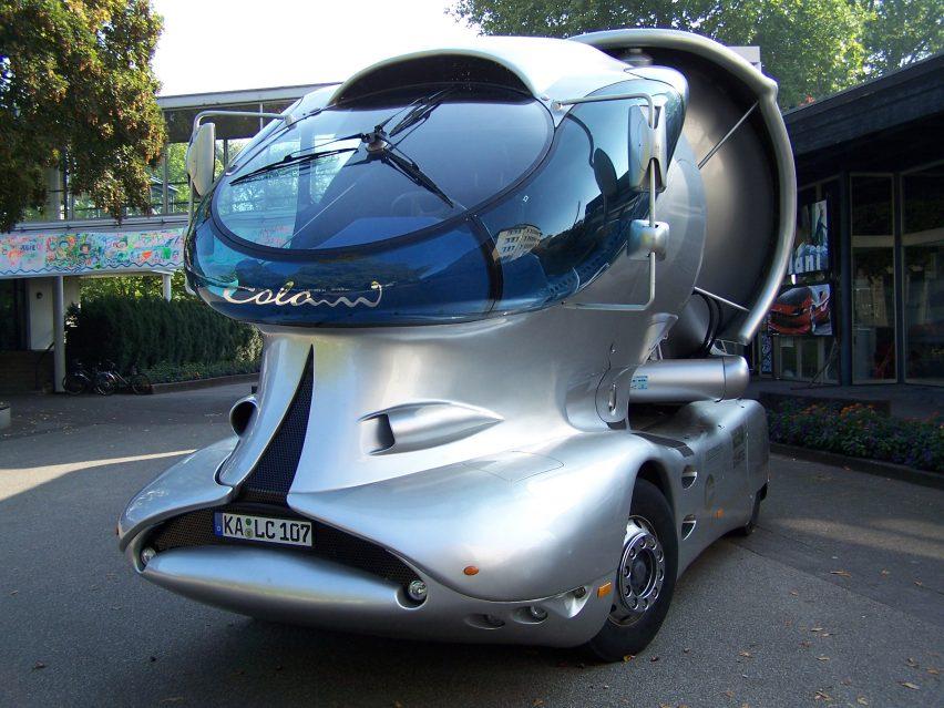 Spitzer Silo truck by Luigi Colani