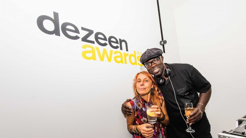 DJ Peter Adjaye with Roberta Adjaye