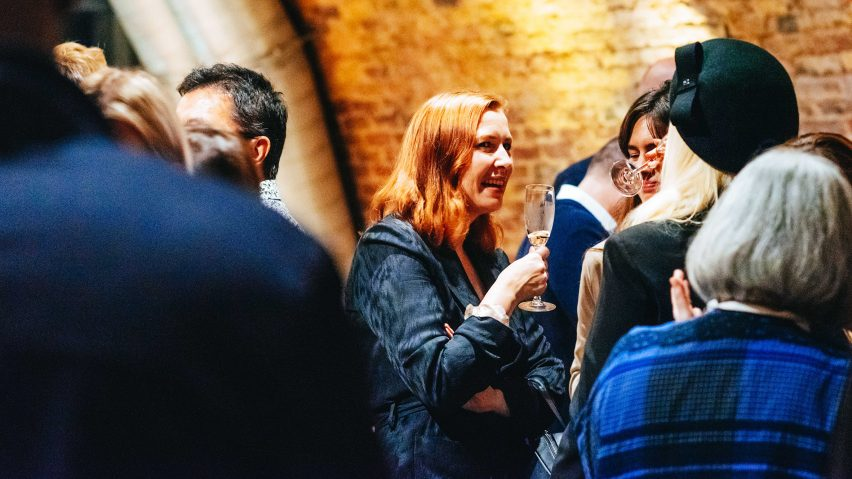 Dezeen Awards 2019 judges dinner