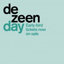 Dezeen Day conference early bird tickets on sale