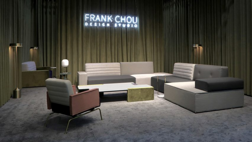 Furniture by Frank Chou at Design China Beijing 2019