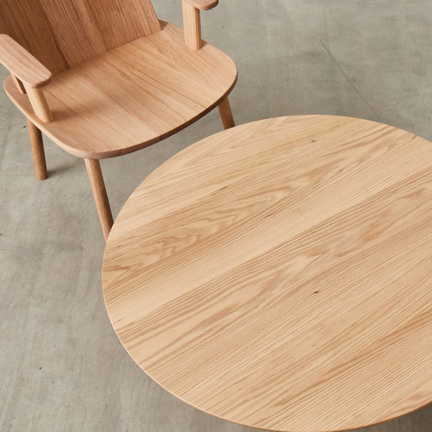 Designers create personal wooden furniture for leaders of London's creative institutions