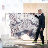 Marcel Wanders creates digitally printed leather hides for Bill Amberg