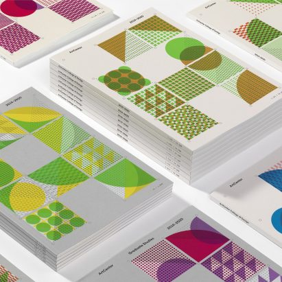 ArtCenter Viewbook features 40,500 unique modernist-inspired covers