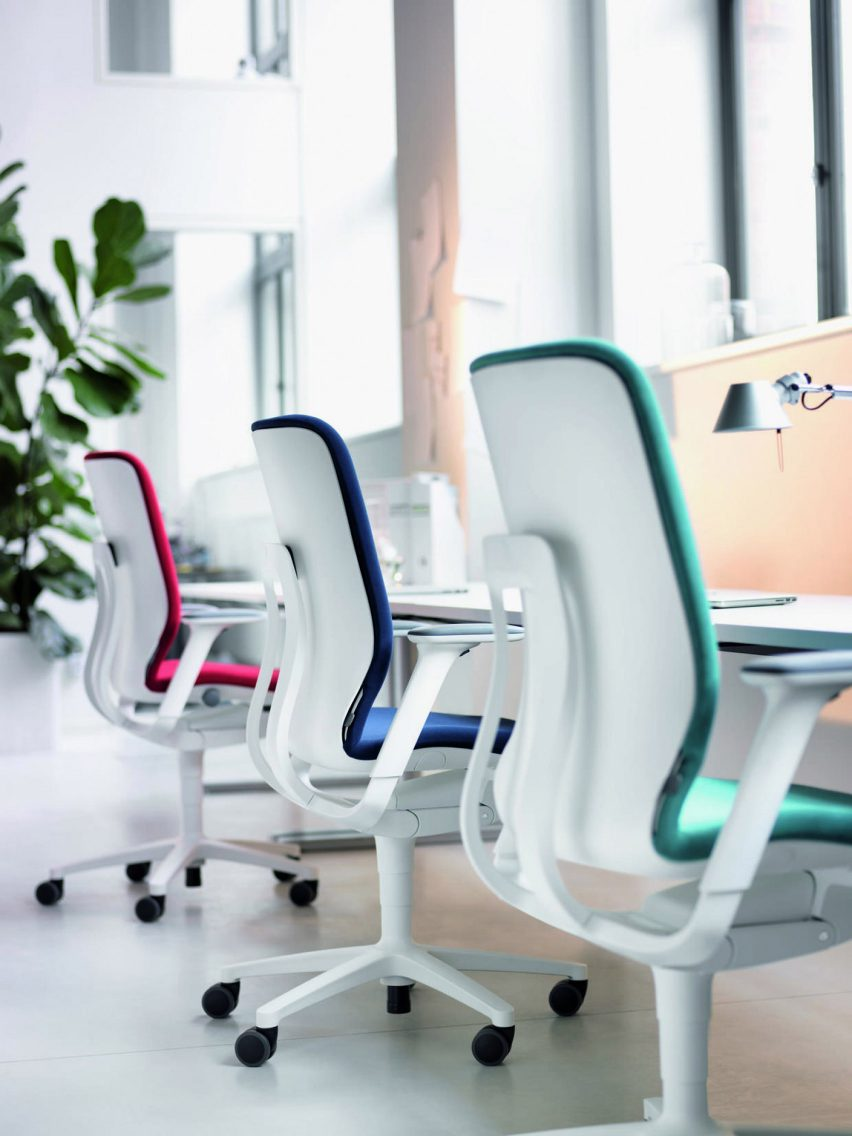 AT 187 ergonomic office chair by Wilkahn