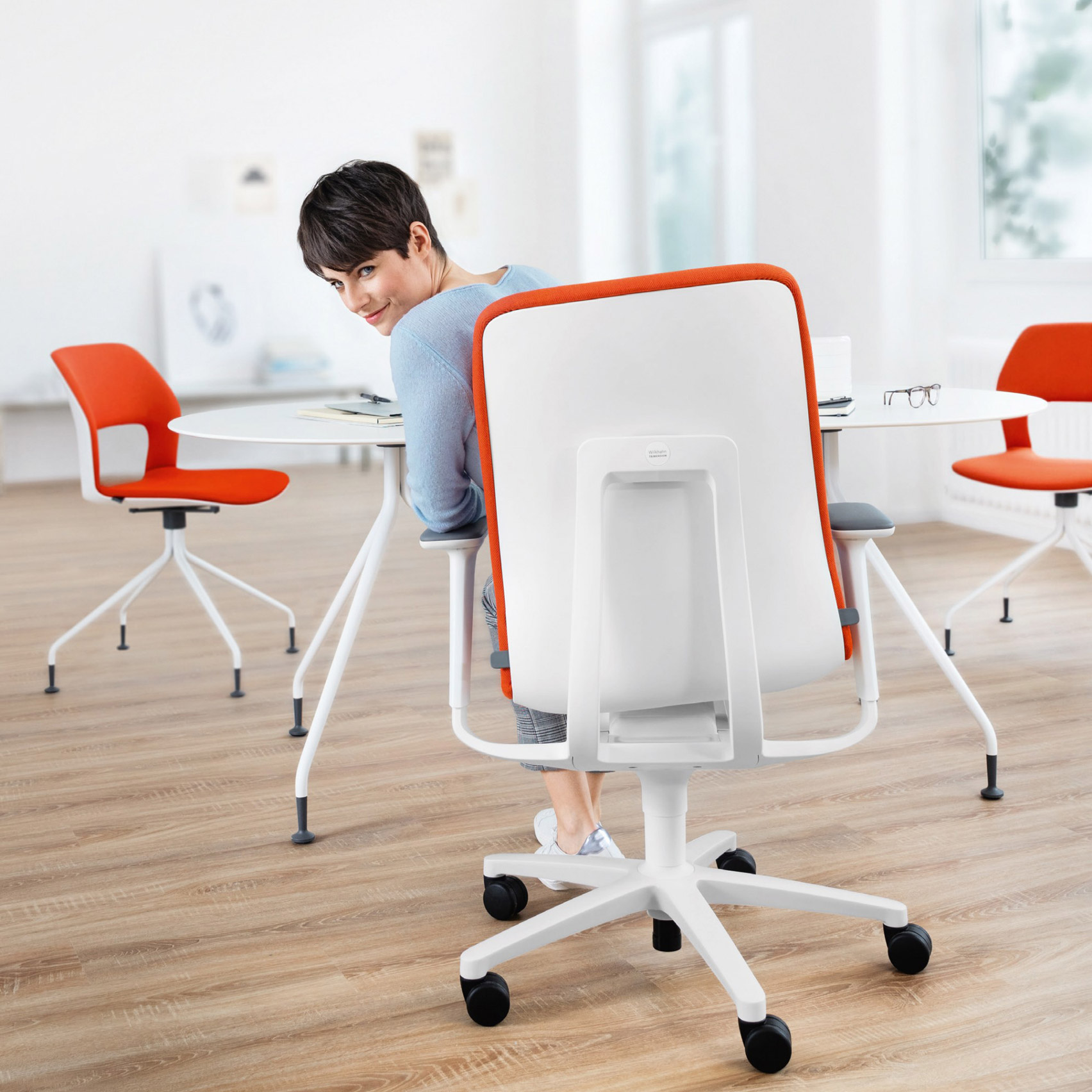 Wilkahn At 187 Chair Promotes Dynamic Sitting To Prevent Backaches