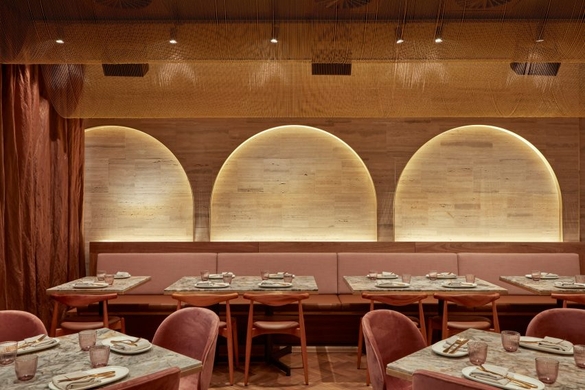 Babylon restaurant and bar by Hoggs & Lamb