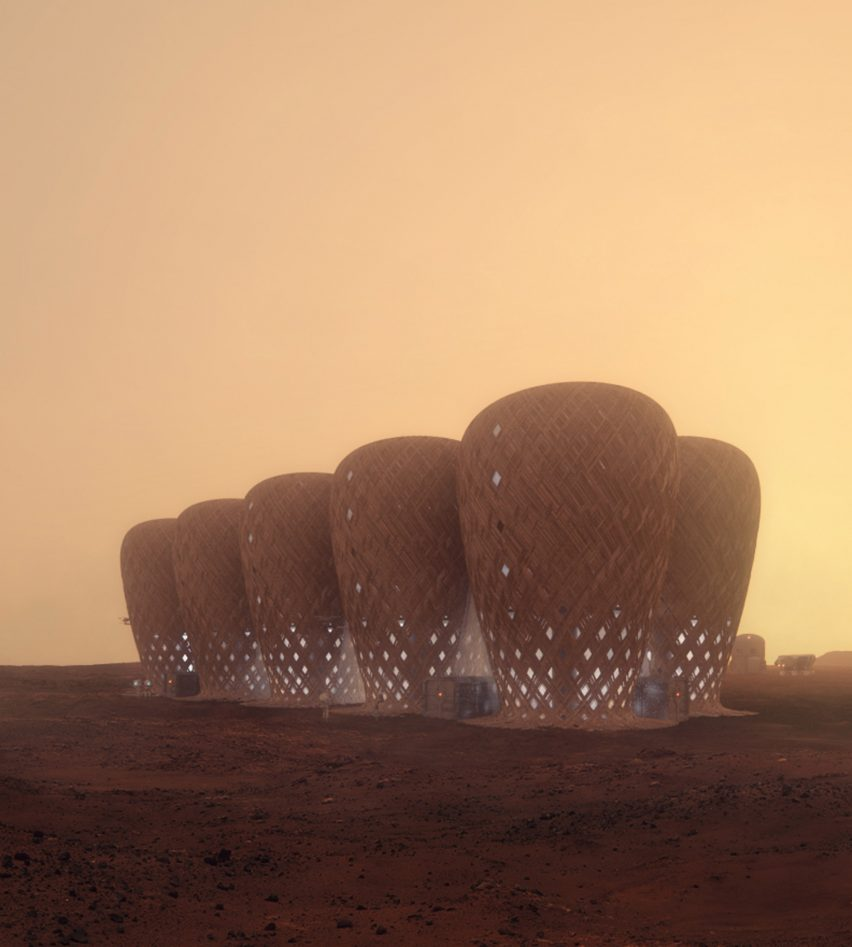 Seed of Life bamboo Mars colony by Warith Zaki and Amir Amzar