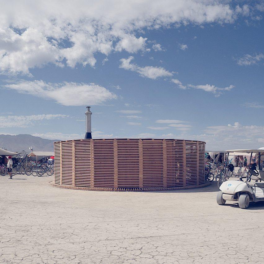 Burning Man Steam of Life by JKMM