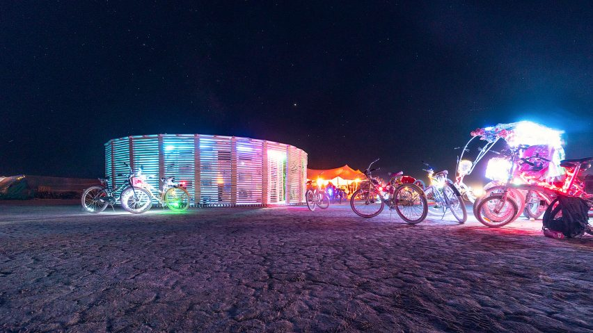 Burning Man Steam of Life by JKMM