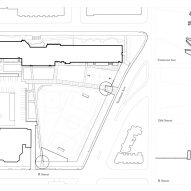 Camp Barker Memorial by After Architecture Site Plan
