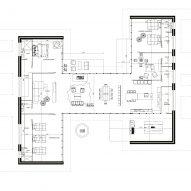 Casa Patios by Rama Estudio Plan