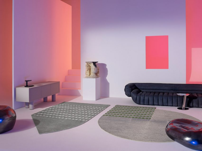 Plasterworks by David/Nicolas from the Cc-Tapis Spectrum catalogue.