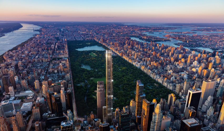 Central Park Tower by Adrian Smith + Gordon Gill Architecture