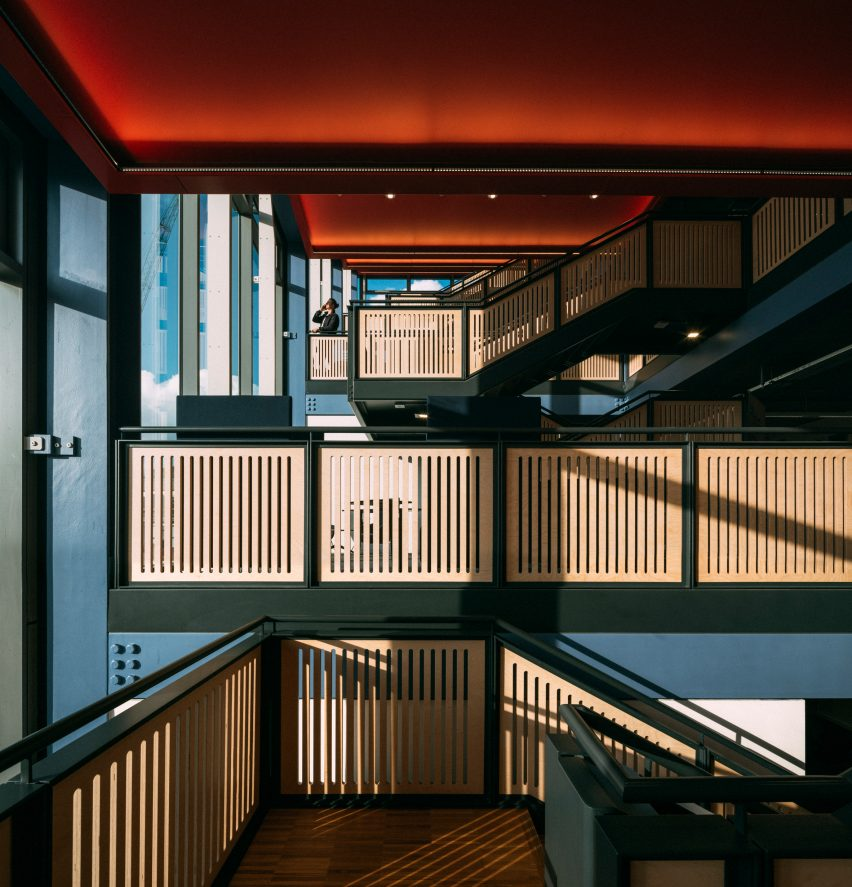 Centre Building at LSE by Rogers Stirk Harbour + Partners