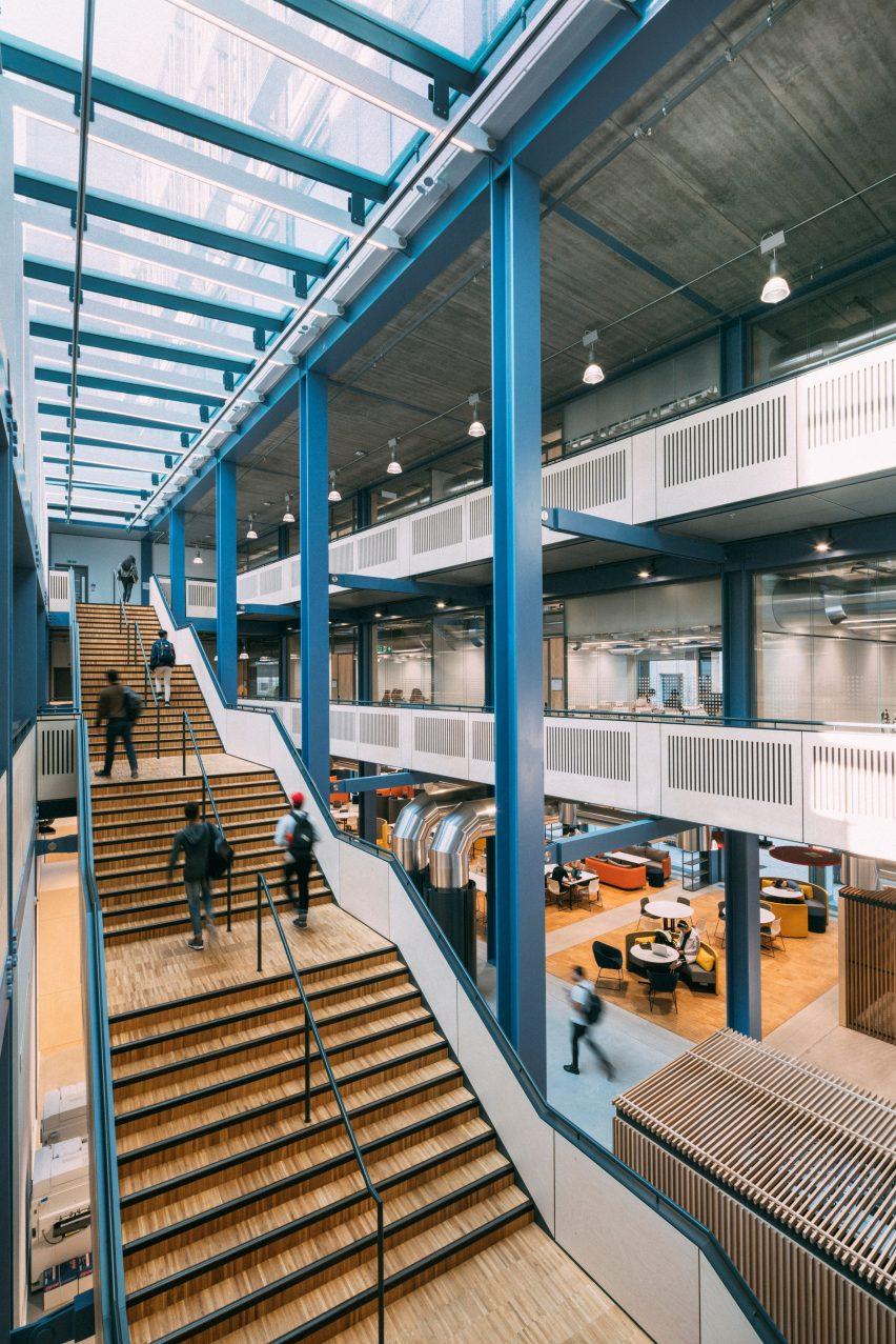 Centre Building at LSE by Rogers Stirk Harbour + Partners