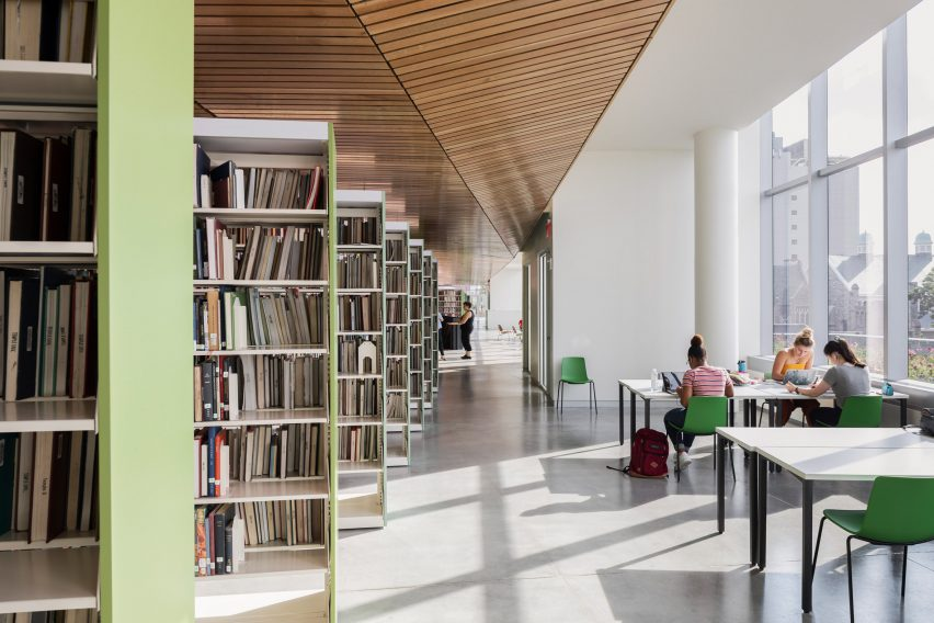 Charles Library Temple University by Snohetta