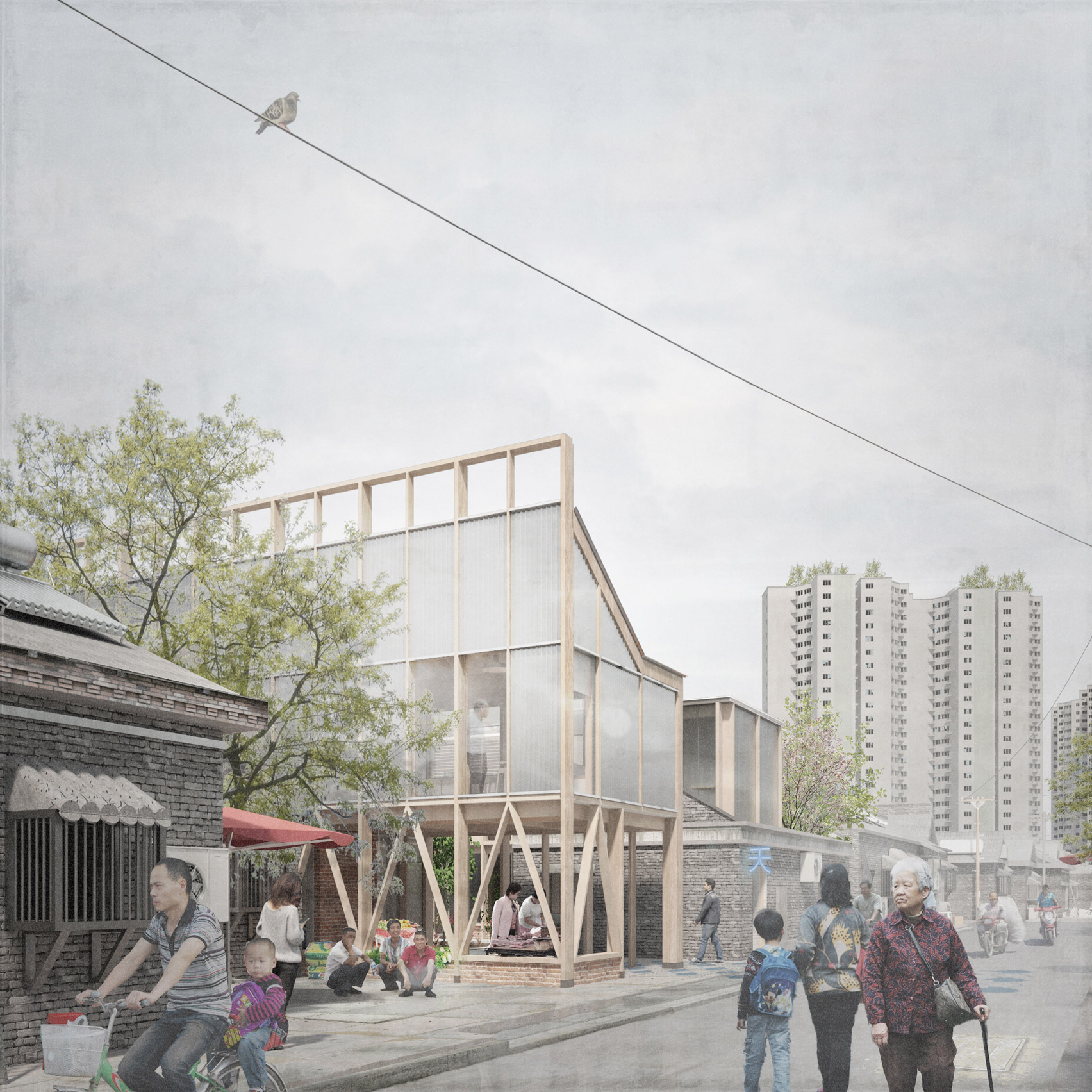 Cameron Clarke Proposes Introducing Mental Health Facilities To Beijing S Hutongs