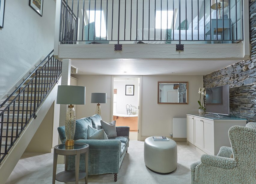 Windermere Suite at Samling Hotel in the Lake District competition