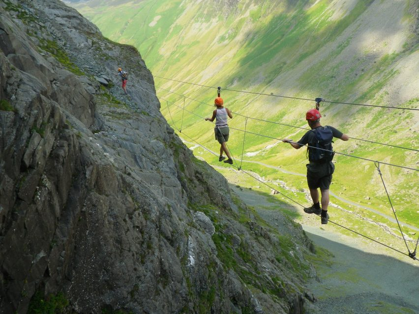 Honister Via Ferrara over the Pass at Samling Hotel in the Lake District competition