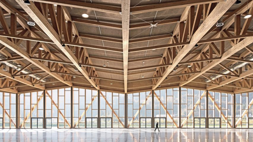 Conference and Convention Centre by Emanuele Bressan and Andrea Botter