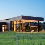 CTA tucks Confluence House into a lush Montana river valley