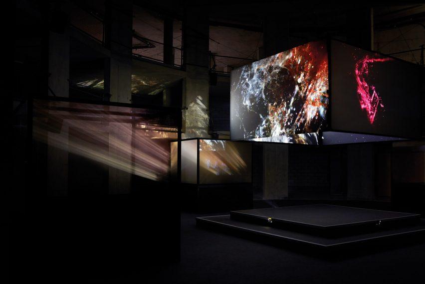 Dan Tobin Smith VOID installation at London Design Festival