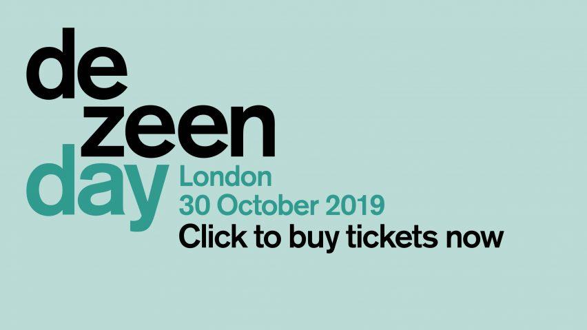 Dezeen Day click to buy tickets banner