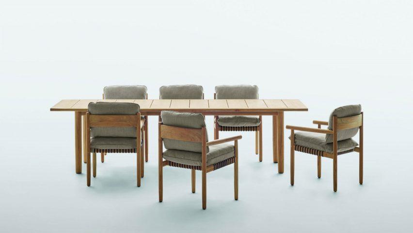 Dedon Tibbo armchair by Barber & Osgerby for Dedon