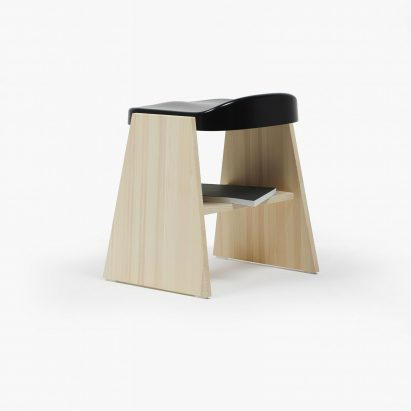 Fronda chair and stool by Industrial Facility