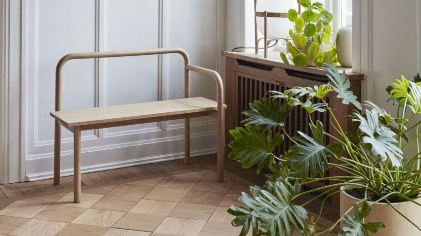 Maissi Bench by Studio Kaksikko for Skagerak Denmark. Photo is by Magnus Ekstrm