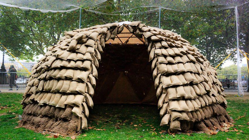 Mud Shell by Mudd Architects