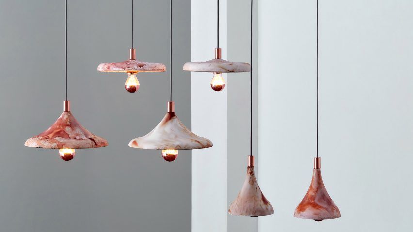 Coffire pendant light by Zhekai Zhang