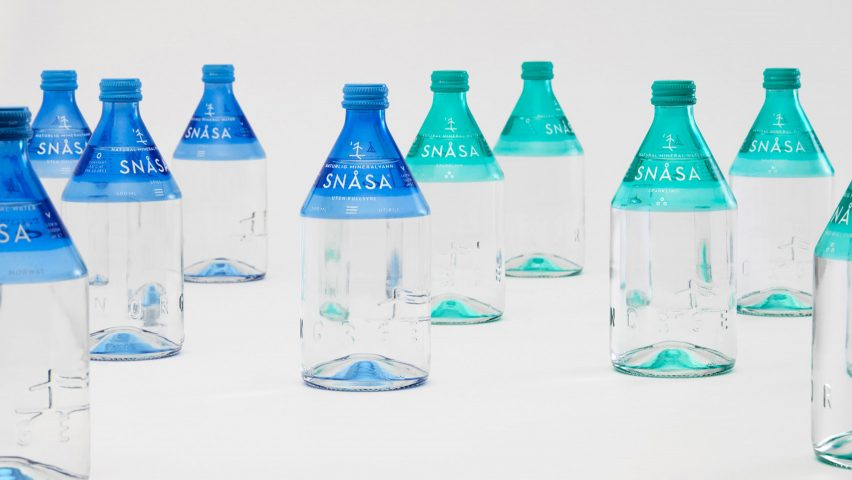 Snåsa Natural Mineral Water by Olssøn Barbieri