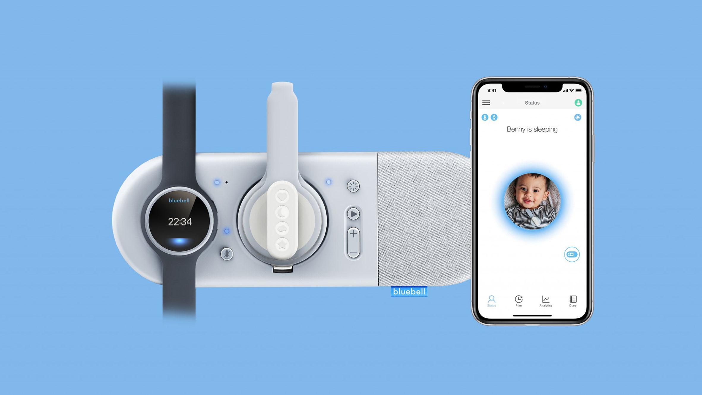 Bluebell smart monitor by Tangerine