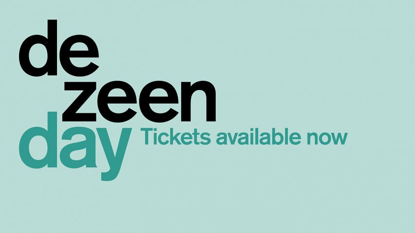 Dezeen Day tickets now available graphic